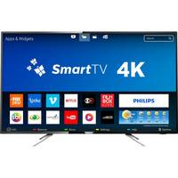 Smart TV LED 50 Philips 4K 50PUG6102/78 Conversor Digital