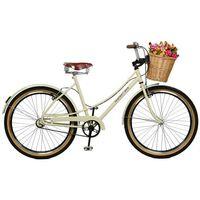 Bicicleta Master Bike Bella Retro Aro 26 Bege