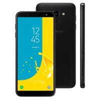 Smartphone Samsung Galaxy J6 SM-J600GT/3DL Desbloqueado GSM 32GB TV Digital Dual Chip Android 8.0 Preto