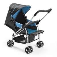 Carrinho de Bebê Berço Flip Multikids Baby BB503 Azul