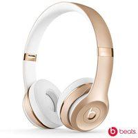 Fone de Ouvido Supra-Auricular Beats Solo 3 Wireless Dourado