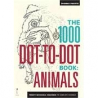 The 1000 Dot-to-Dot Book: Animals - Twenty Incredible Creatures to Complete Yourself
