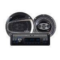 Kit Auto Falante 6 Pol + Radio Mp3 Player B52 Elk 236u