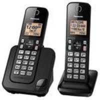 Telefone Sem Fio Panasonic KX-TGC352 Com Bina 2 Aparelhos Preto