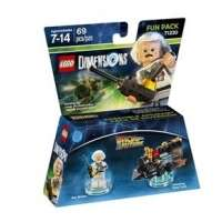 LEGO 71230 Dimensions Back to the Future Doc Brown Fun Pack