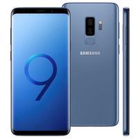 Smartphone Samsung Galaxy S9 Plus SM-G965 Desbloqueado GSM 128GB Dual Chip Android 8.0 Azul