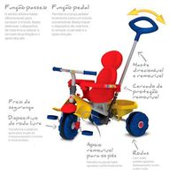 Triciclo de Passeio Smart Trike Bandeirante