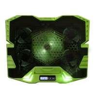 Master Cooler Gamer Verde Com Led Warrior Ac292