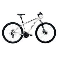 Bicicleta Aro 29 Xtb Com Quadro Em Alumínio Suspensão Dianteira E 21 Marchas Branca