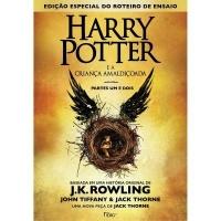 Harry Potter e a Criança Amaldiçoada - Parte Um e Dois Capa Brochura