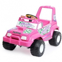 Quadriciclo Elétrico Peg Pérego Jeep Nevada Pick-Up Pink