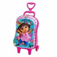 Mini Mochila Escolar Mochilete 3d Dora Aventureira Maxtoy pré