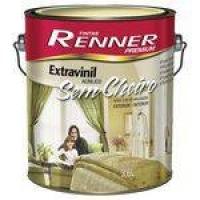 Tinta Acrílica Extravinil S/ Cheiro Semi Brilho Branco 3,6l Renner