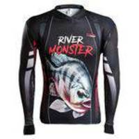 Camisa de Pesca Brk River Monster Tilápia - Tamanho PP