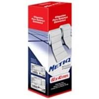 Etiqueta Adesiva Metiq para Balança Térmica 60x40mm