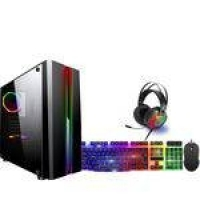PC Gamer RGB FoX PC Intel Core i3 (GeForce GTX 2GB 128 Bits GDDR5) 8GB HD 500GB