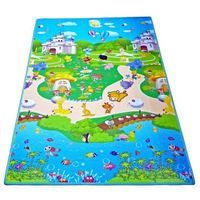 Tapetão Baby Style Castelo Colorido