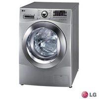 Lavadora e Secadora de Roupa LG Prime Touch  WD1485AT5 8,5Kg Prata
