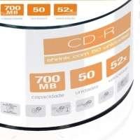 Mídia CD-R Multilaser 700mb Shrink 50 Unidades Cd051