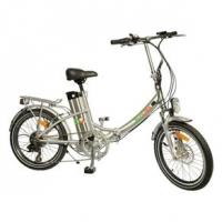 Bicicleta Biobike Elétrica Dobrável JS 20 Aro 20 Prata