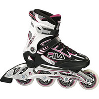 Patins Fila  Bond Kf Lady Abec 7 84mm/83A Preto e Rosa
