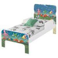 Cama Infantil Adesivada Fundo Do Mar