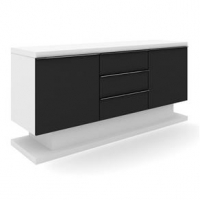 Buffet Nebraska Plus Branco E Preto