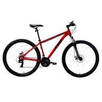 Bicicleta Aro 29 Xtb Com Quadro Em Alumínio Suspensão Dianteira E 21 Marchas Vermelha