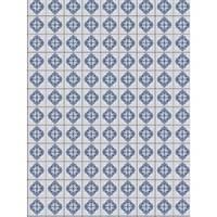 Toalha de Mesa Mainci Azulada 1.20x1.60cm