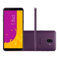 Smartphone Samsung Galaxy J8 SM-J810M Desbloqueado Tela 6 Dual Chip 64GB Android 8.0 Oreo Violeta