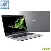 Notebook Acer Aspire 5 A515-52G-50NT i5 8265U 8GB 1TB 128GB 1.6GHz 15.6 Windows 10 Prata