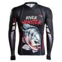 Camisa de Pesca Brk River Monster Tilápia - Tamanho M