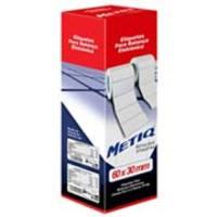 Etiqueta Adesiva Metiq para Balança Térmica 60x30mm