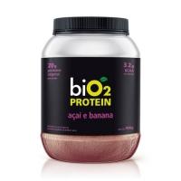 Proteína de Arroz e Ervilha Protein Açaí e Banana - Bio2 - 908g