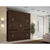 Guarda roupa Casal 10 Portas 4 Gavetas Araplac Excellence 1430 77