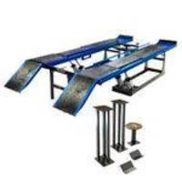 Rampa de alinhamento pneumática azul - MR5000 - Máquinas Ribeiro