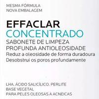 Limpador Facial La Roche-Posay Effaclar Sabonete Concentrado Duo 70g