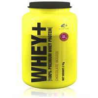 Suplemento 4 Plus Nutrition Whey+ 100% Premium Whey Protein Chocolate 2kg