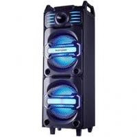 Caixa de Som Bluetooth Multilaser Party Speaker Dj - Portátil 350W USB Preta