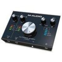 Interface M-Audio M-Track 2×2M   MIDI   Para Gravação USB