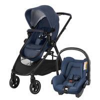 Carrinho De Bebê Maxi Cosi Travel System Anna 1210ts Trio Azul