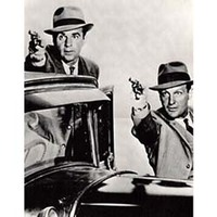 Pôster ?Os Intocáveis? Eliot Ness & Robert Stack Classic Photos