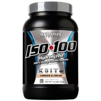 29eec8715 Suplemento Dymatize Iso 100 Hydrolyzed Whey Protein Isolate Cookies   Cream  726g