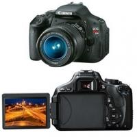 Câmera Digital Canon T3i 18.0MP Preta + Lente Canon 18 - 55 IS mm