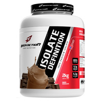 Suplemento Body Action Isolate Definition 100% Protein Isolate Chocolate 2kg