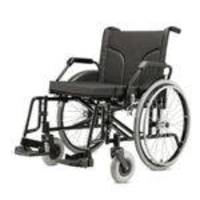 Cadeira De Rodas Jaguaribe Big Assento 60 Cm Pneu Anti Furo Cap. 160 Kgs