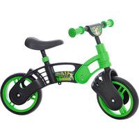 Bicicleta de Equilíbrio Kami Bikes Super 10 Aro 10 Preta e Verde