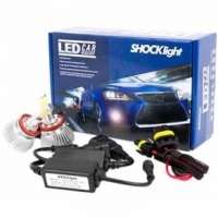 Kit Lâmpada Led Do Farol Shocklight H8 32w 2200 Lumem Headlight
