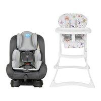 Cadeira de Alimentação Burigotto Papa & Soneca 0 a 15 Kg + Cadeirinha para Auto reclinável Burigotto Reclinável - Shift 0 a 25kg