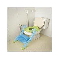 Assento Redutor Com Escada Multikids Step Up Azul